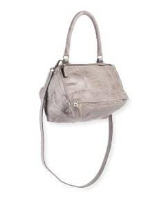 Givenchy Light Gray Pandora Pepe Small Satchel Bag