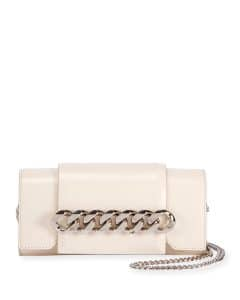Givenchy Off-White Infinity Curb Chain Clutch Bag