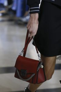 Givenchy Red Flap Bag - Spring 2018