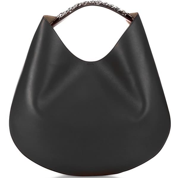 Givenchy Small Infinity Leather Hobo Bag w/ Chain