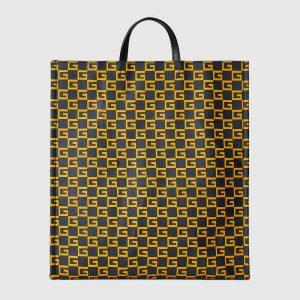 Gucci Canvas Square G Supreme Tote Bag