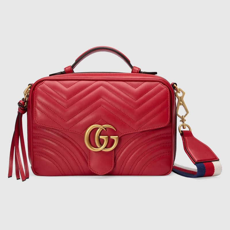 78ee00c9bc7 Gucci Cruise 2018 Bag Collection Features The Ophidia Bag   Spotted ...