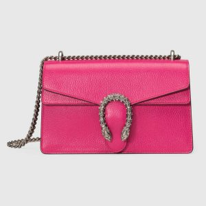 Gucci Pink Dionysus Small Shoulder Bag