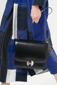 Hermes Black 2002 Flap Bag - Spring 2018