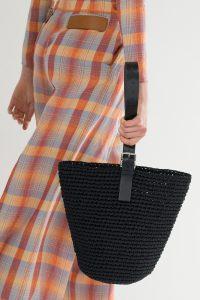 Hermes Black Raffia Tote Bag 2 - Spring 2018