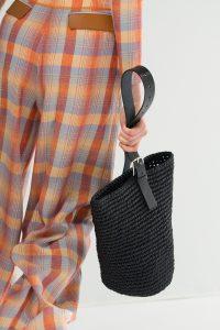 Hermes Black Raffia Tote Bag - Spring 2018