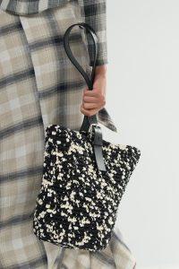 Hermes Black/White Raffia Tote Bag - Spring 2018