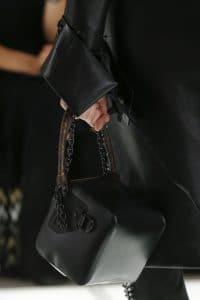 Louis Vuitton Black Cube-Shaped Top Handle Bag - Spring 2018