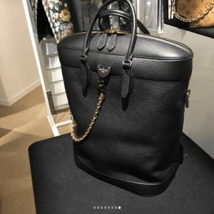 Louis Vuitton Black Large Tote Bag