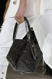 Louis Vuitton Black Python Cube-Shaped Top Handle Bag - Spring 2018