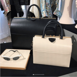 Louis Vuitton Black and Beige Speedy Bags 2