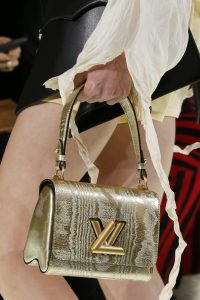 Louis Vuitton Gold Twist Bag - Spring 2018