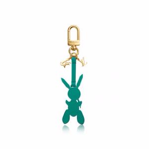 Louis Vuitton Green Rabbit Bag Charm