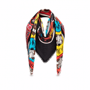 Louis Vuitton Kabuki Sticker Shawl