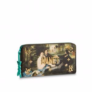 Louis Vuitton Luncheon on The Grass Zippy Wallet