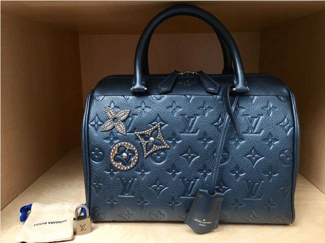 4d538813e231 Louis Vuitton Monogram Empreinte Bags with Pins Guide