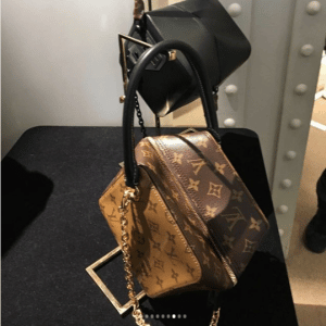 Louis Vuitton Monogram Canvas Cube-Shaped Bag