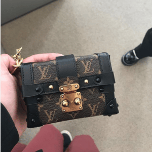 Louis Vuitton Monogram Canvas Mini Malle Bag