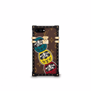 Louis Vuitton Monogram Canvas with Kabuki Stickers Eye Trunk for iPhone 7 Plus
