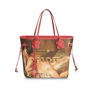 Louis Vuitton Reclining Girl Neverfull MM Bag