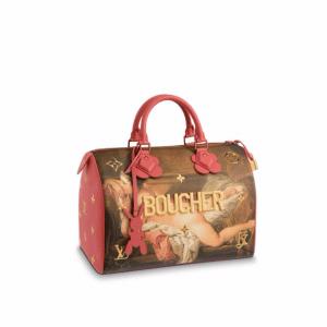 Louis Vuitton Reclining Girl Speedy 30 Bag