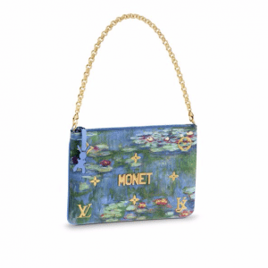 Louis Vuitton Water Lilies Clutch Bag