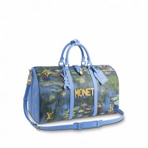 Louis Vuitton Water Lilies Keepall 50 Bag