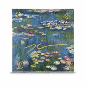 Louis Vuitton Water Lilies Monogram Shawl Light
