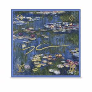 Louis Vuitton Water Lilies Silk Square