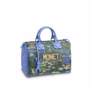 Louis Vuitton Water Lilies Speedy 30 Bag