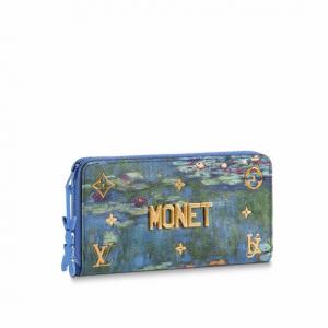 Louis Vuitton Water Lilies Zippy Wallet