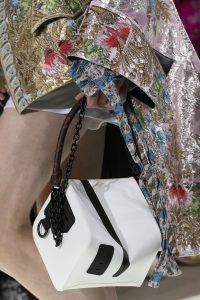 Louis Vuitton White Cube-Shaped Top Handle Bag - Spring 2018