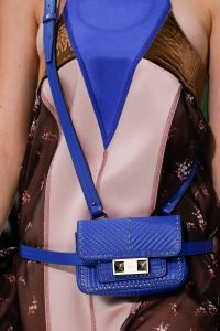 Valentino Blue Ziggy Stud Belt Bag 2 - Spring 2018