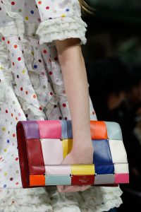 Valentino Multicolor Patchwork Clutch Bag - Spring 2018