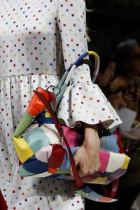 Valentino Multicolor Patchwork Tote Bag - Spring 2018