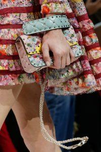 Valentino Pink Floral Embellished Rockstud Spike Bag 2 - Spring 2018