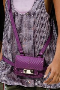 Valentino Purple Ziggy Stud Belt Bag - Spring 2018