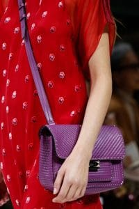 Valentino Purple Ziggy Stud Crossbody Bag - Spring 2018