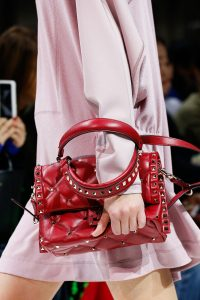 Valentino Red Rockstud Top Handle Bag - Spring 2018