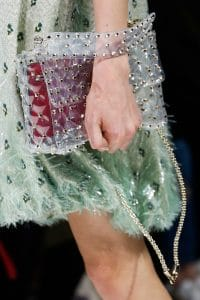 Valentino Transparent Rockstud Spike Bag - Spring 2018