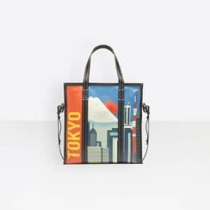 Balenciaga Black Bazar Tokyo Shopper S Bag