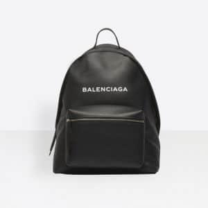 Balenciaga Black Everyday Backpack Bag