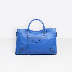Balenciaga Bleu Lazuli Classic City Bag