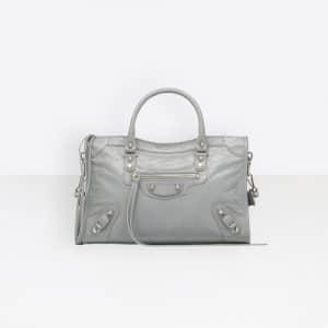 Balenciaga Gris Plomb/Black Classic City S Bag
