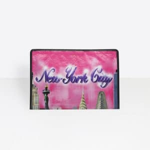 Balenciaga Rose Hortensia Bazar New York Pouch Bag