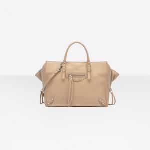 Balenciaga Rose des Sables Papier A6 Zip Around Bag