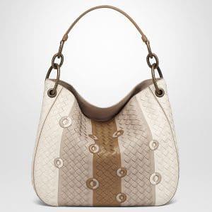 Bottega Veneta Mist Nappa Small Loop Bag