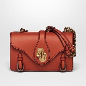 Bottega Veneta Terracotta Calf City Knot Bag
