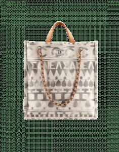 Chanel Beige Iliad Large Shopping Bag