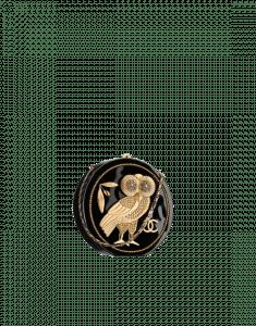 Chanel Dark Gold/Black Resin/Brass/Strass Evening in Greece Minaudiere Bag